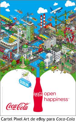 Pixel Art - eBoy para Coca-Cola