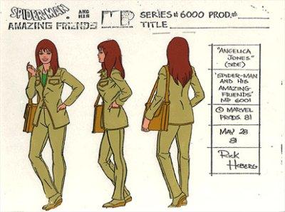 Spider-Man y sus sorprendentes amigos - Guía de dibujo de Angelica