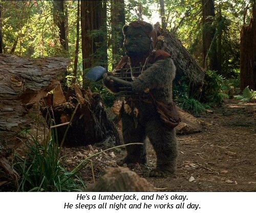 Star Wars - La aventura de los ewoks - Chukha-Trok