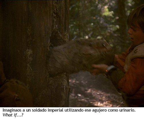 Star Wars - La aventura de los ewoks - Criatura del árbol