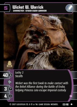 Star Wars - La aventura de los ewoks - Wicket