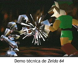 Zelda Ocarina of Time - Demo técnica