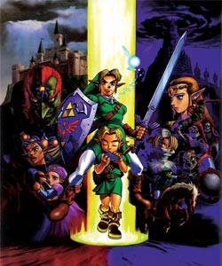 Zelda Ocarina of Time - Personajes