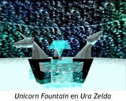 Zelda Ocarina of Time - Unicorn Fountain