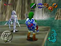 Zelda Ocarina of Time - Zoras Domain descongelado