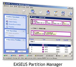 Software gratis - EASEUS Partition Manager