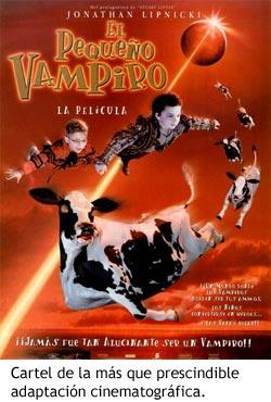 El pequeño vampiro - Cartel de la película