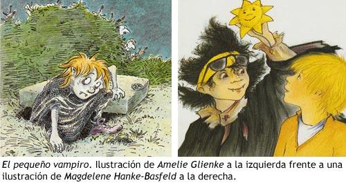 El pequeño vampiro - Ilustraciones