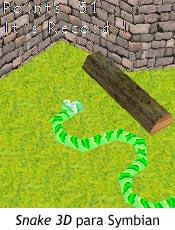 Snake 3D para Symbian