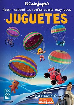 Catálogo de juguetes de El Corte Inglés 2010 - Portada