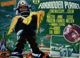Leslie Nielsen en 'Planeta prohibido' (1956)