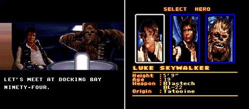 Super Star Wars - Han Solo y Chewbacca