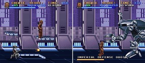 Super Star Wars - Hangar de la Estrella de la Muerte