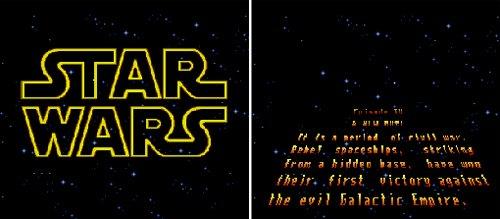 Super Star Wars - Opening crawl