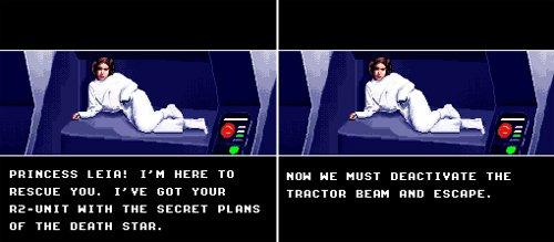 Super Star Wars - Princesa Leia