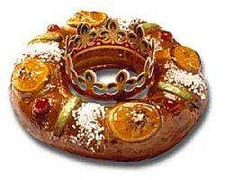 Roscón de Reyes - Roscón