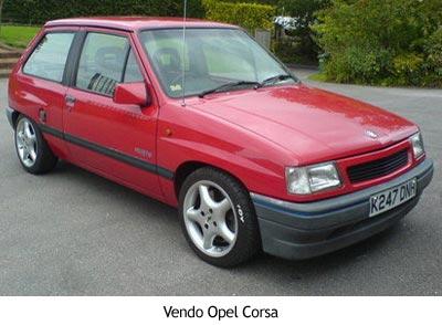 Vendo Opel Corsa