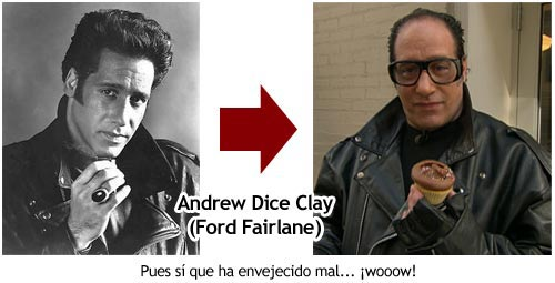 Andrew Dice Clay - Ford Fairlane - Quien te ha visto y quien te ve