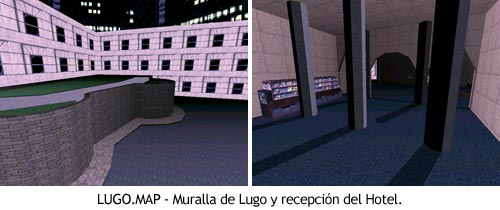 Duke Nukem 3D - LUGO.MAP - Muralla y columnas