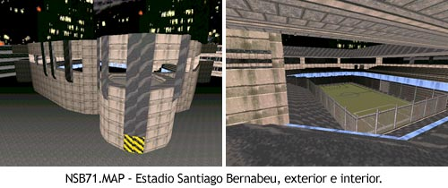 Duke Nukem 3D - NSB71.MAP - Estadio Santiago Bernabeu