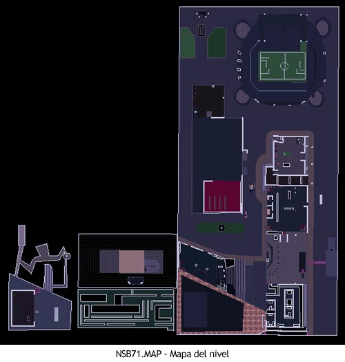 Duke Nukem 3D - NSB71.MAP - Mapa