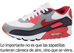 Zapatillas deportivas con cámara de aire