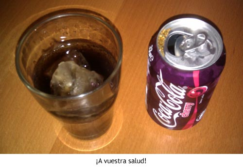 Coca-Cola Cherry a vuestra salud