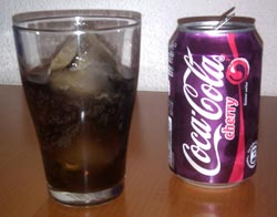 Coca-Cola Cherry francesa