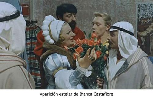 Tintín y el misterio de las naranjas azules - Bianca Castafiore