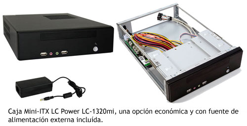 NES PC - Caja Mini-ITX LC Power LC-1320mi