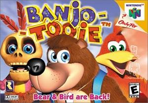 Banjo Tooie - Box Art
