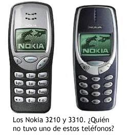 Nokia 3210 y 3310