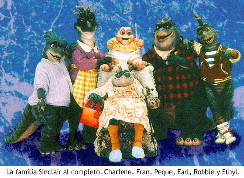 Dinosaurios, la serie - Familia