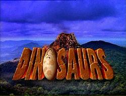 Dinosaurios, la serie - Logo