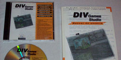 DIV Games Studio - Caja y CD