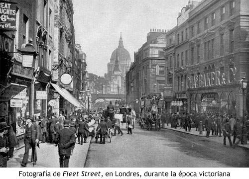Londres victoriano - Fleet Street