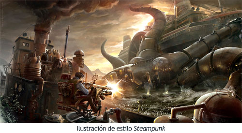 Londres victoriano - Steampunk
