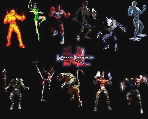 Killer Instinct - Personajes
