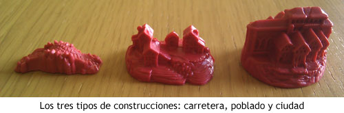 Colonos de Catán - Construcciones