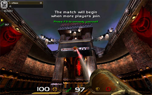 Juegos para navegador - Quake Live