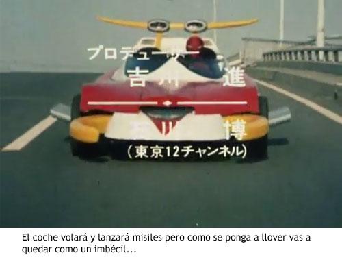 Spider-man japonés - Spidermóvil