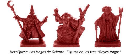 HeroQuest - Los Magos de Oriente - Figuras