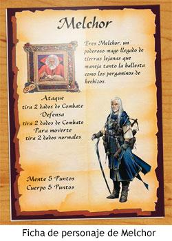HeroQuest - Los Magos de Oriente - Melchor