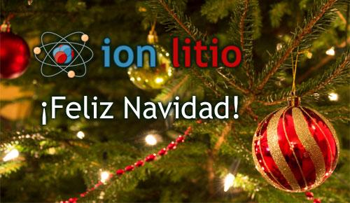 ion litio - Navidad 2012