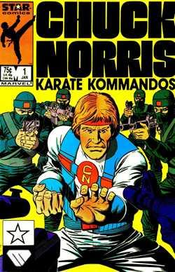 Karate Kommados - Portada