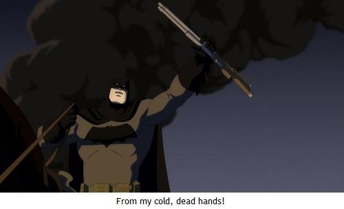 Batman regreso - Batman Heston