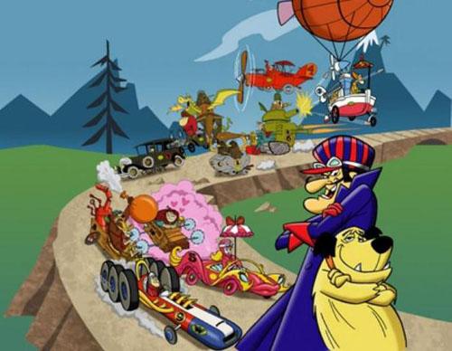 Los autos locos - Carrera