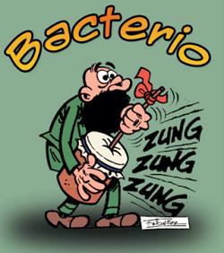 Motadelo y Filemón - Bacterio