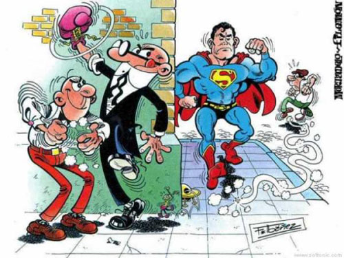 Mortadelo y Filemón - Superman